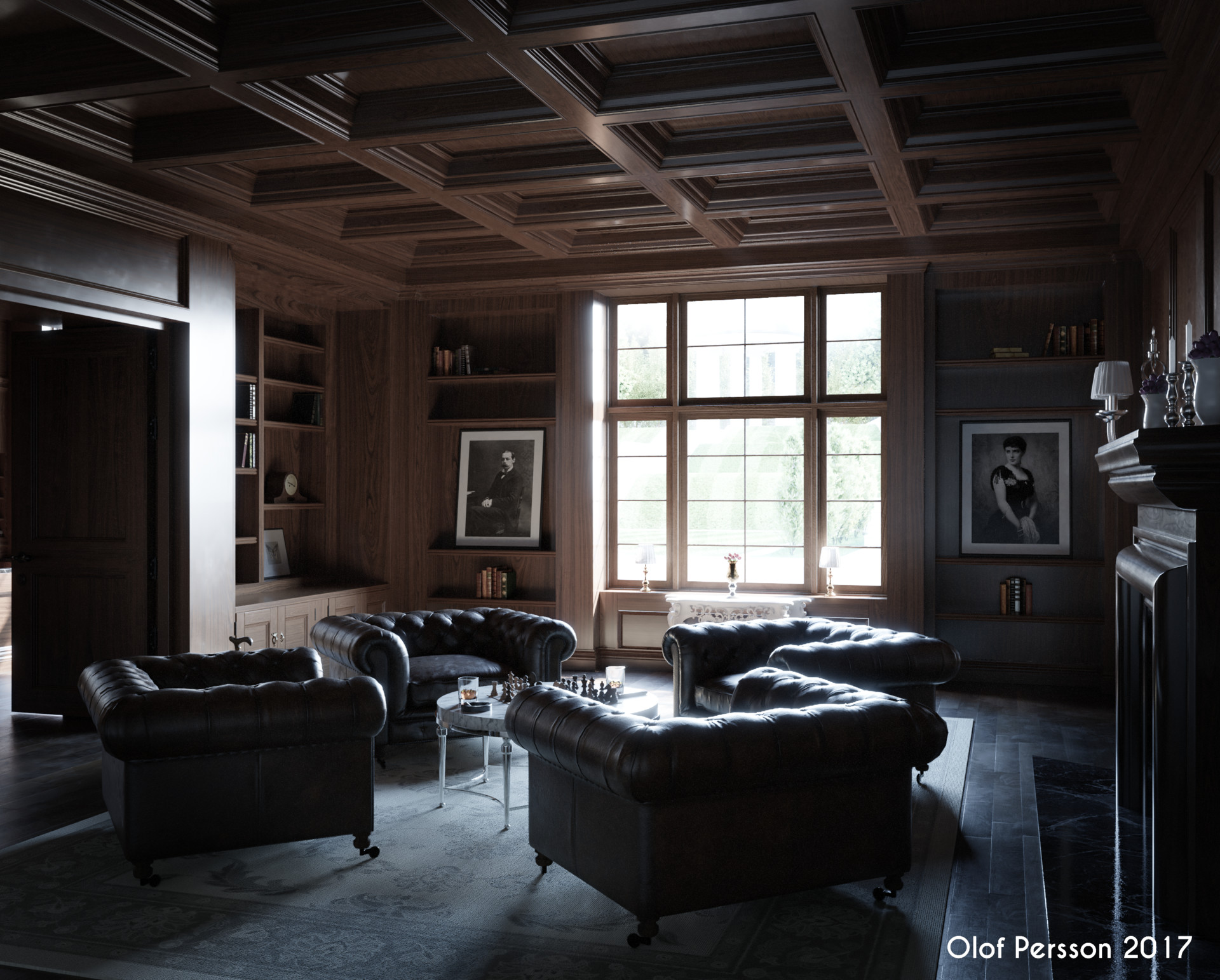 Created by  Olof Persson , using the  Designs  and  Wood  textures.