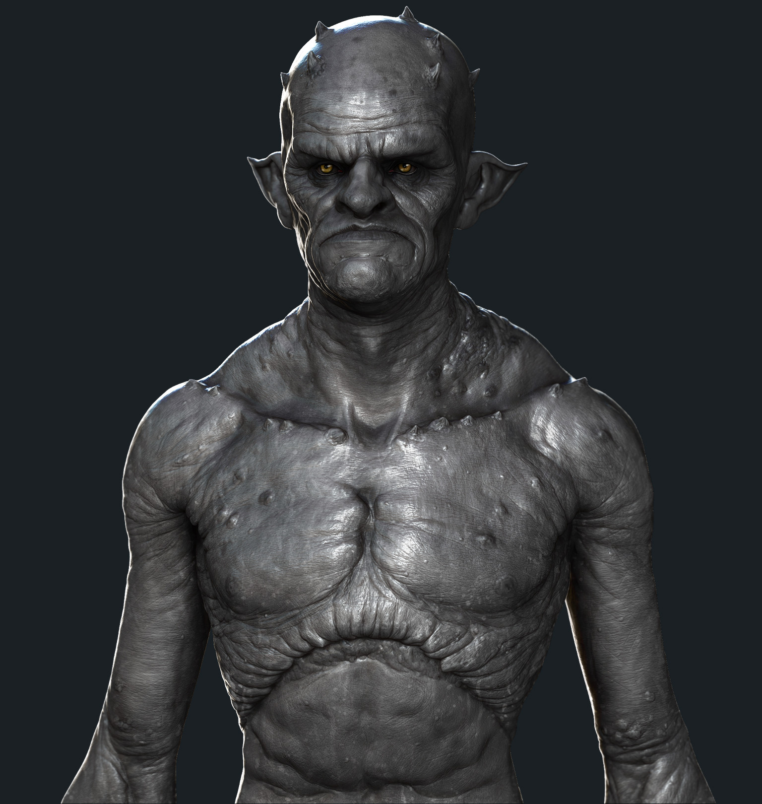 by  William Paré-Jobin using Zbrush