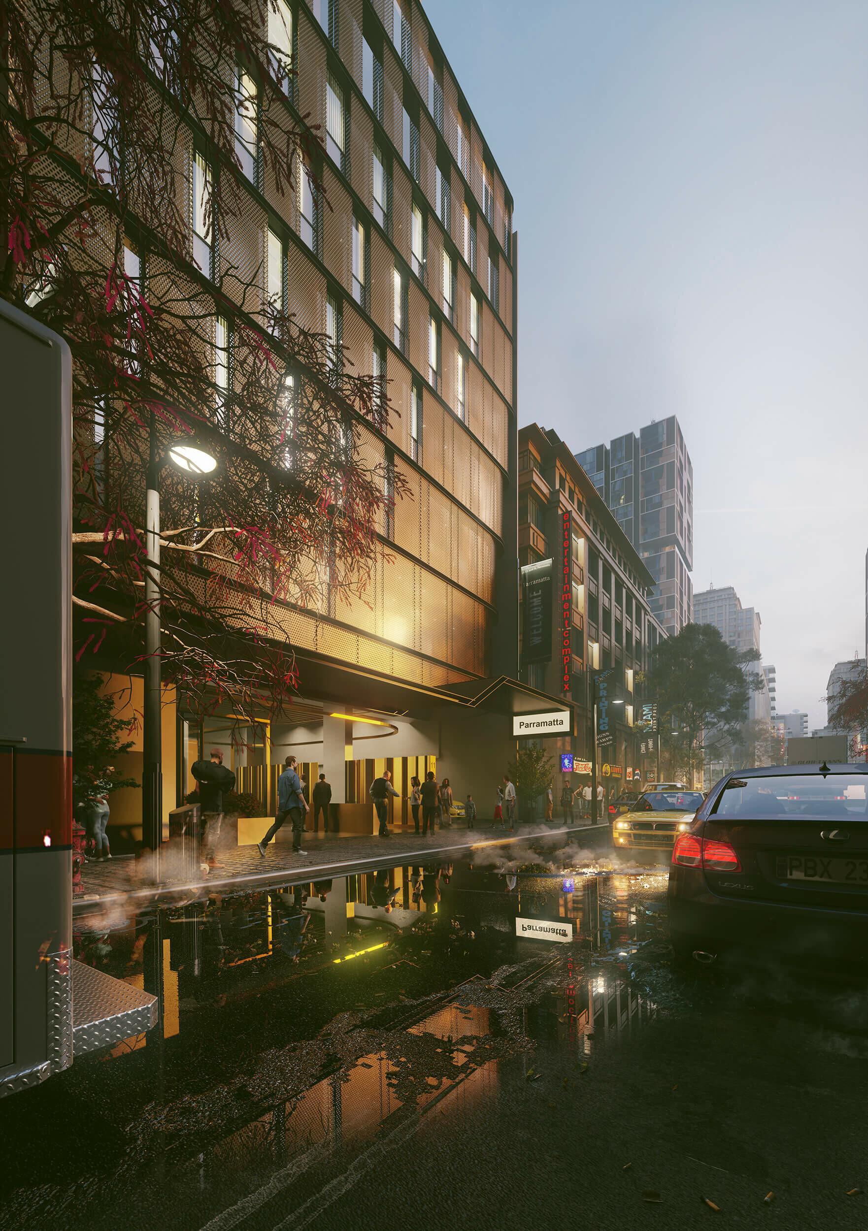 Aird St Parramatta by  Vic Nguyen