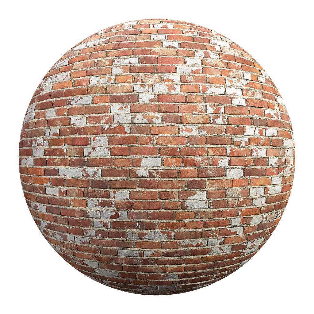 BricksOldPaintFlakedRed001.png