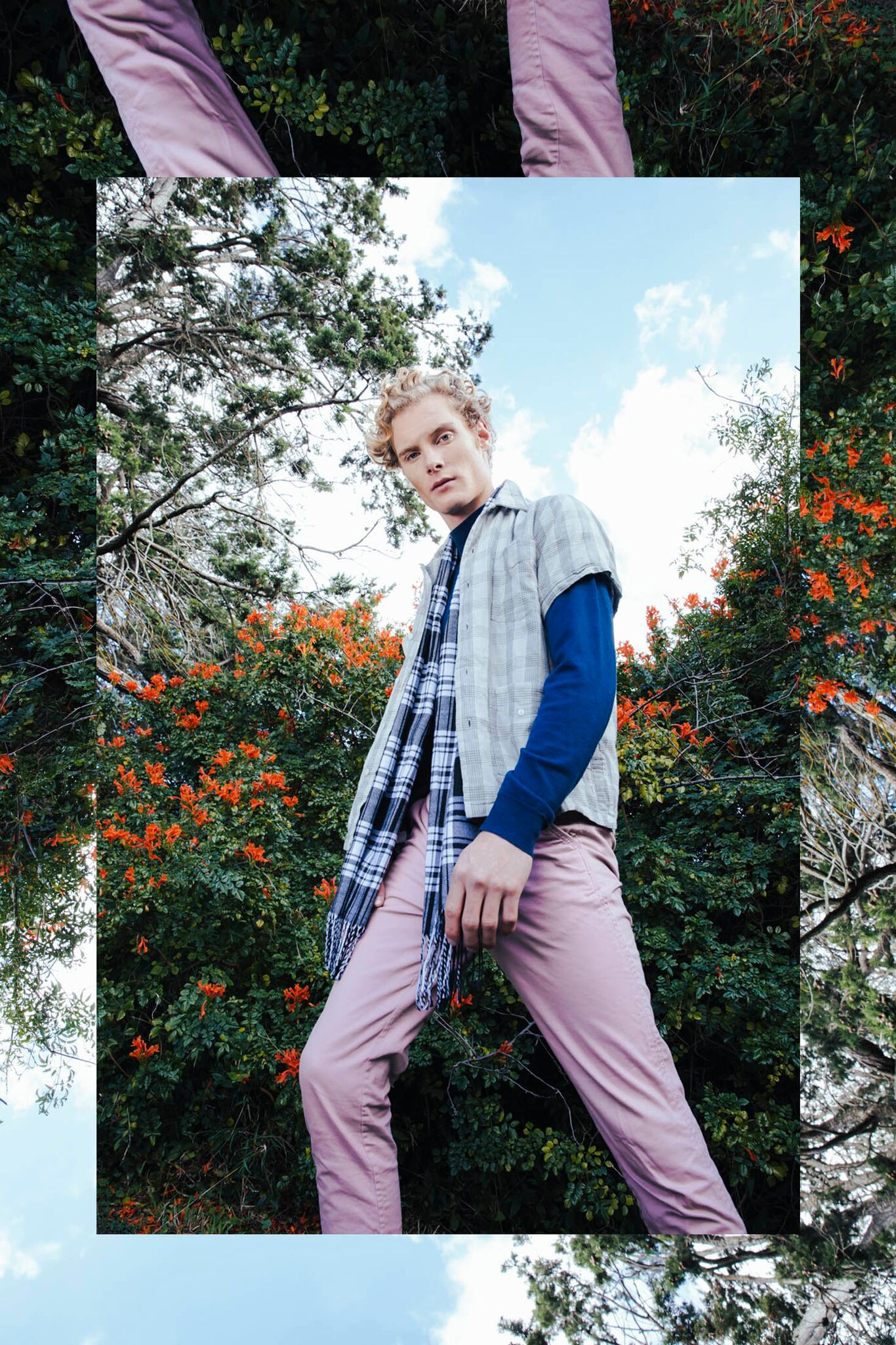 Wearing: Pants h&m, Turtle Neck Jumper Scotch and Soda Scarf @dangerfield