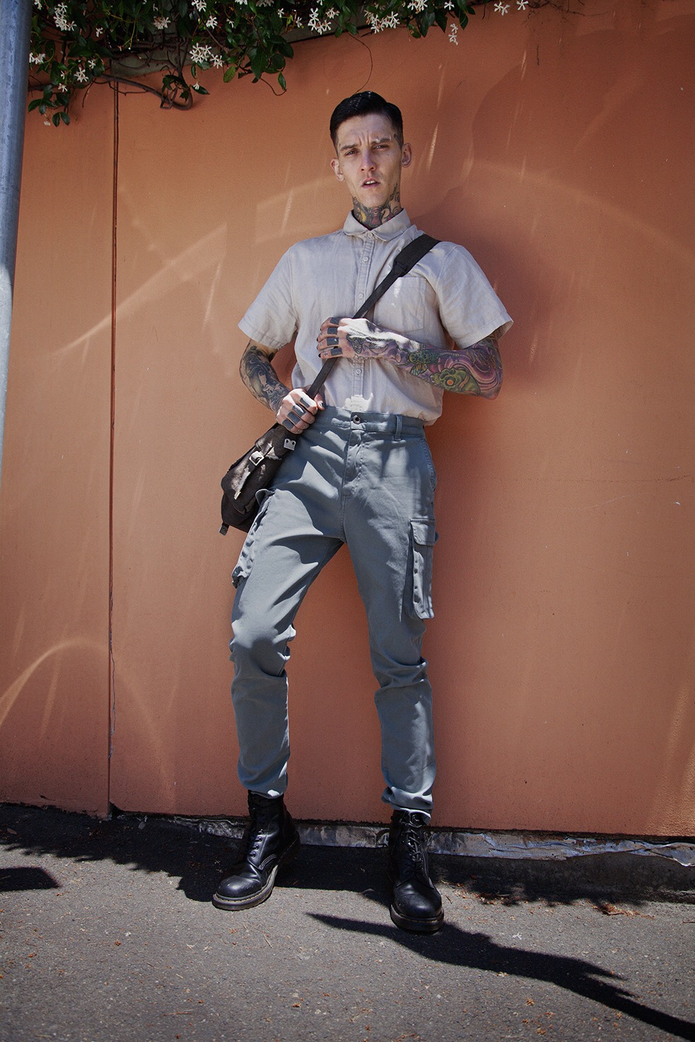 Shirt & Pants @ theacademybrand Shoes @ drmartens