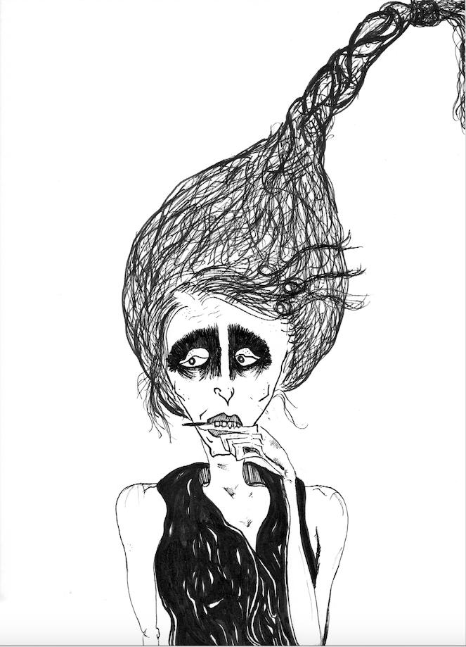 Worried Iris