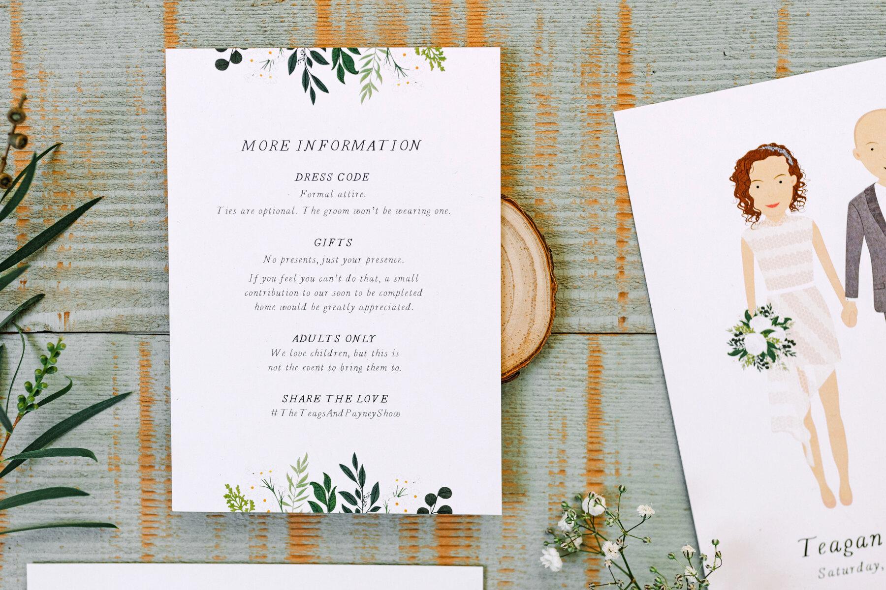 Wedding Invitation Wording Adults Only Love Carli Wedding Stationery Signage Pretty Paper Goods