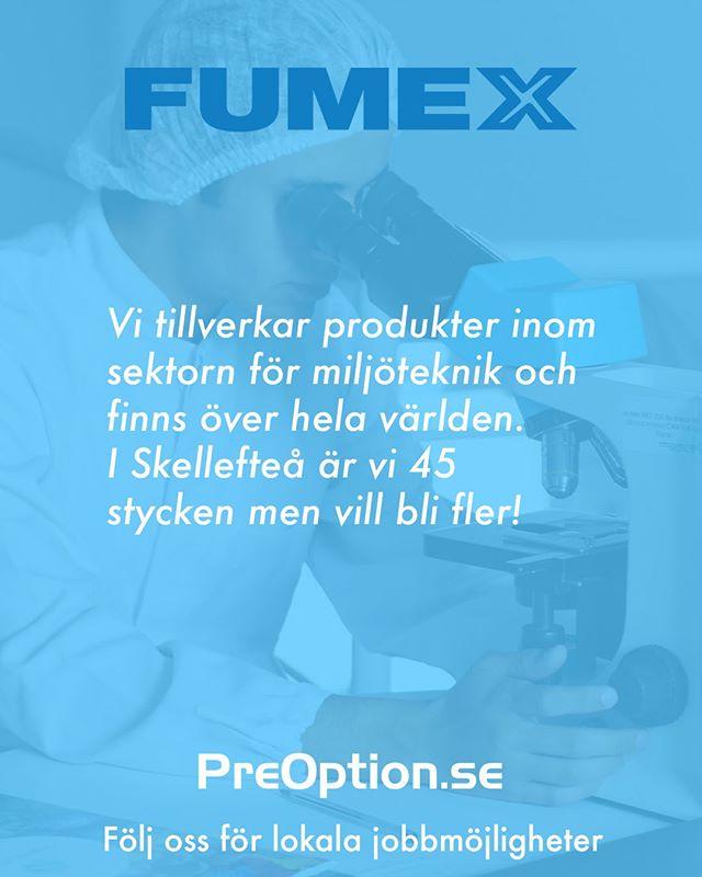 Fumex är specialister på utsug, fläktar och filter. Vill du veta mer om företaget, eller har andra funderingar kring industribranschen? 👩🔧Surfa in på PreOption.se.