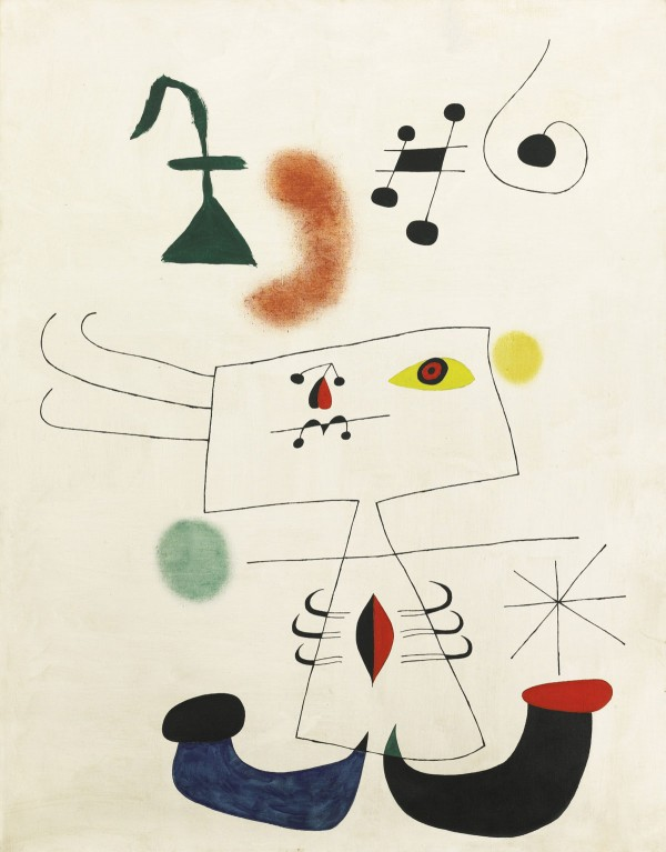 Joan Miro's work to be auctioned in London next month