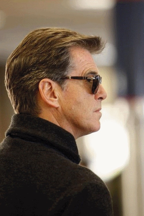 Pierce Brosnan filming in Mallorca for 'A Long Way Down'