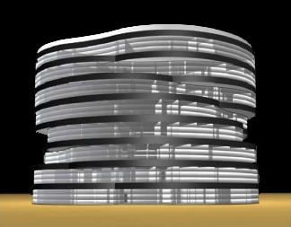 """""""FISCALIA"""" BUILDING - JUSTICE CAMPUS - MADRID"""