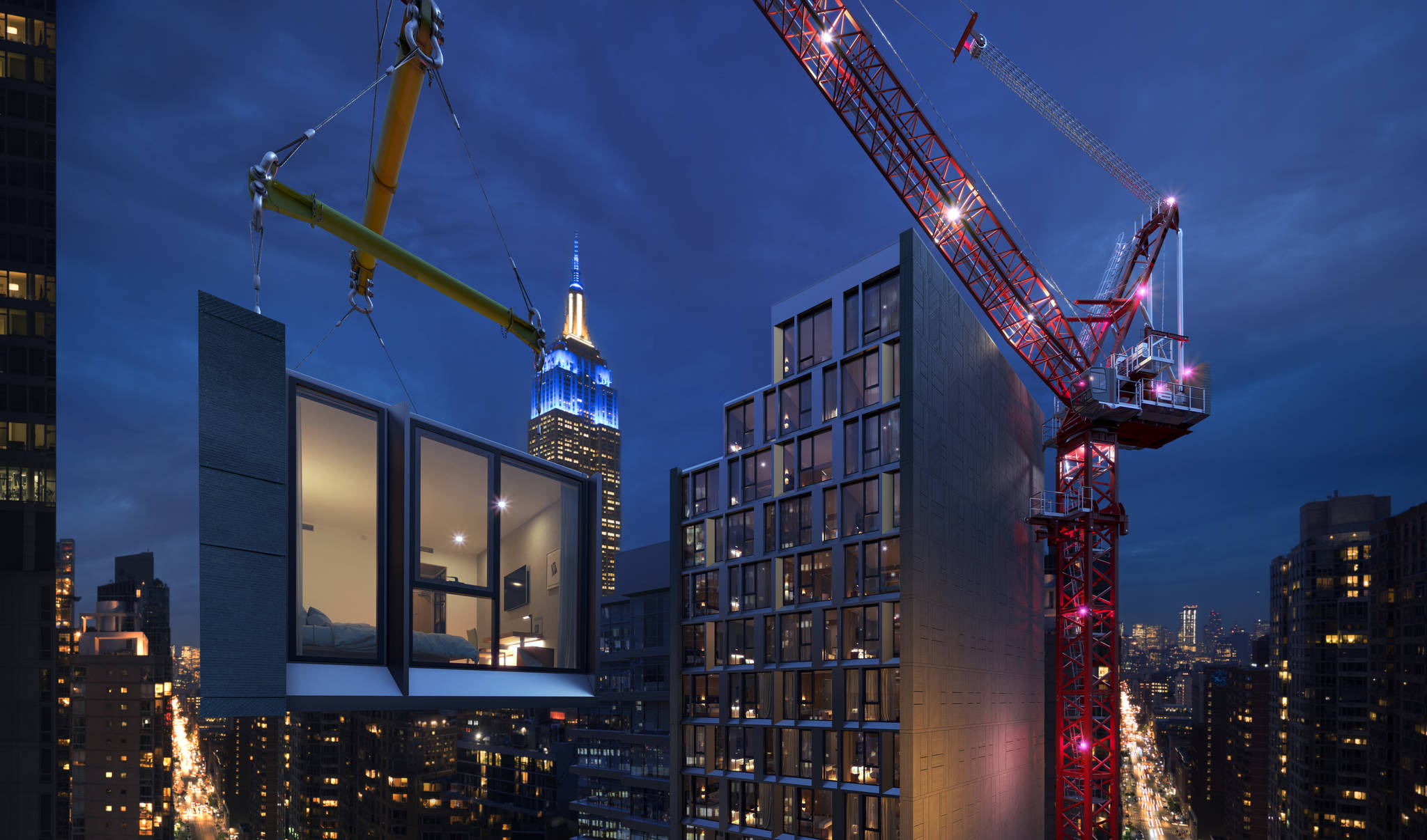 The world's future tallest modular hotel, AC Hotel New York NoMad (Design and photo credit: Danny Forster & Architecture)