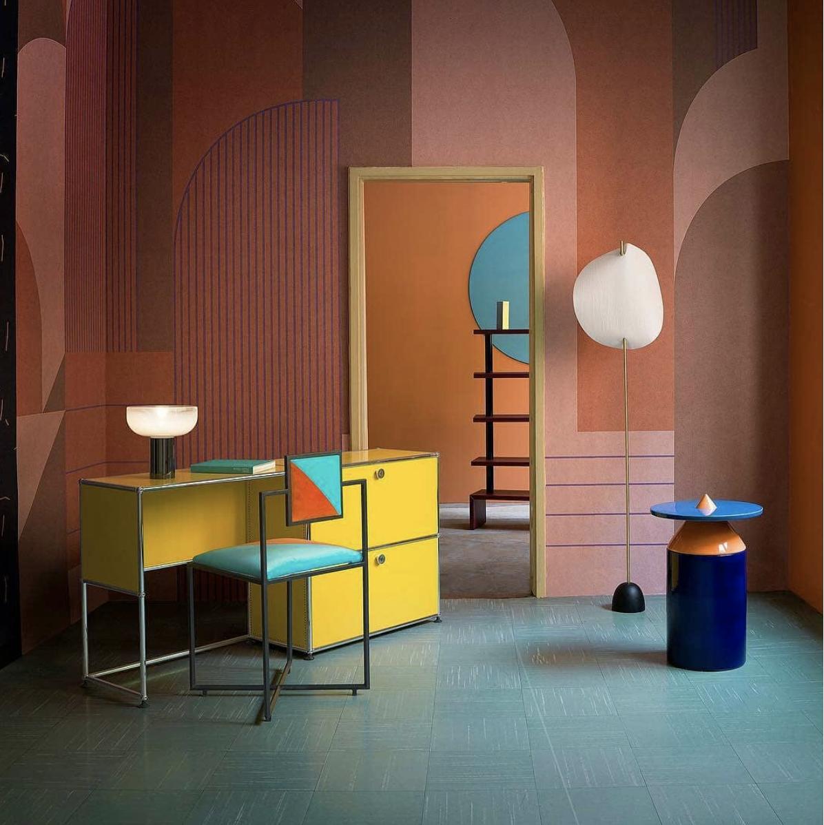 "Huskdesignblog -""From  @studiopepe_official , here is their latest interior styling for  @elledecoritalia """