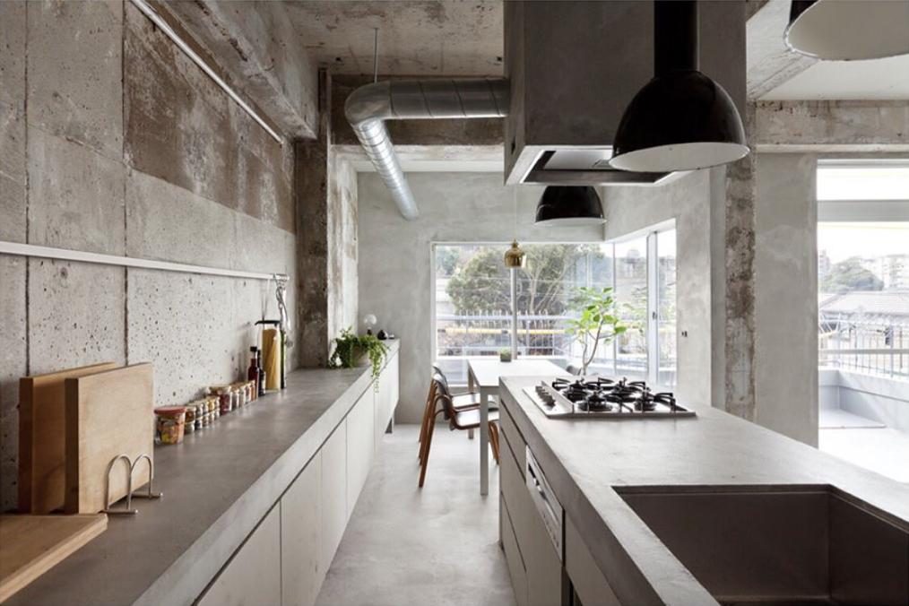 "Kraft.da -""Renovated concrete apartment in Nagoya, Japan by Ogaki-based studio Airhouse Design Office  @keiichi_kiriyama """