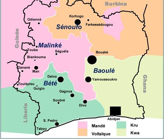 Les Baoulés en Côte d'Ivoire