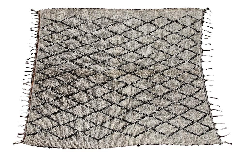 Tapis berbère artisanal et graphique - Arden