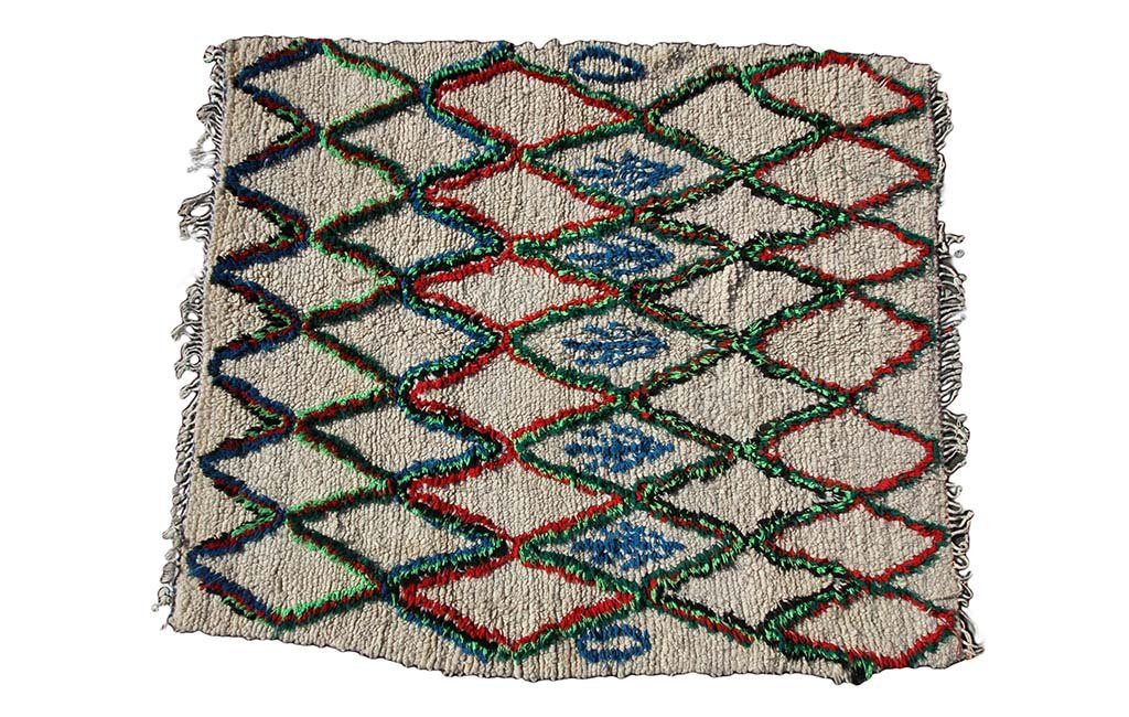 Tapis artisanal et graphique - Arden
