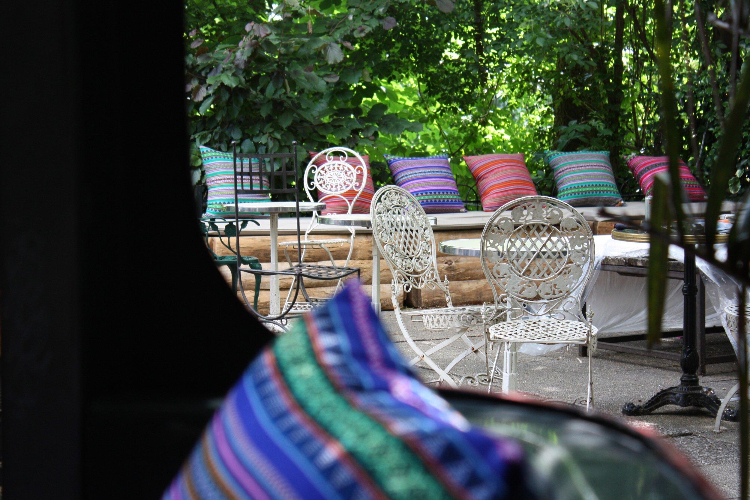 Pavillon Puebla - Paris, Buttes Chaumont