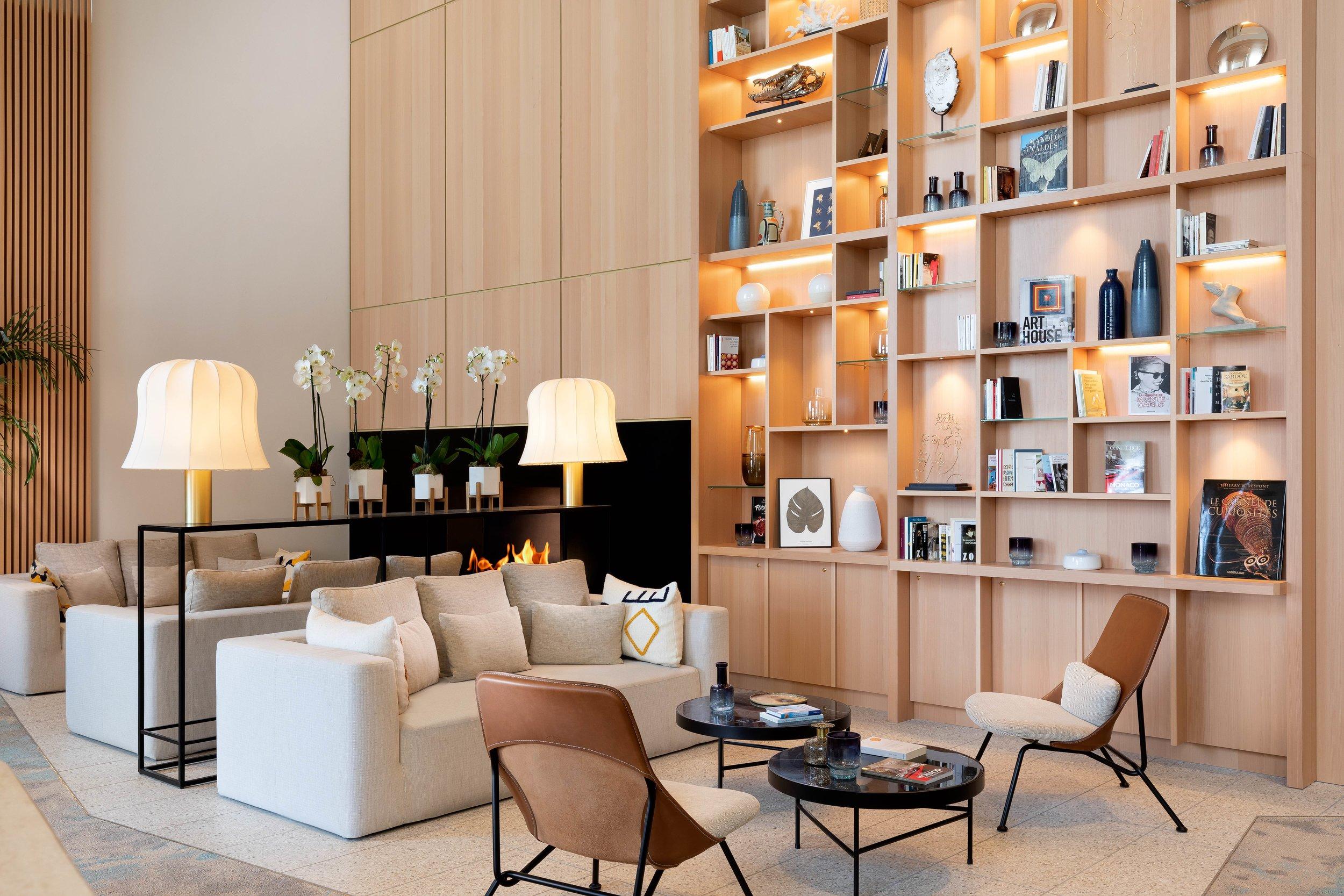 Adjamée Concept  pour le Riviera Mariott Hotel