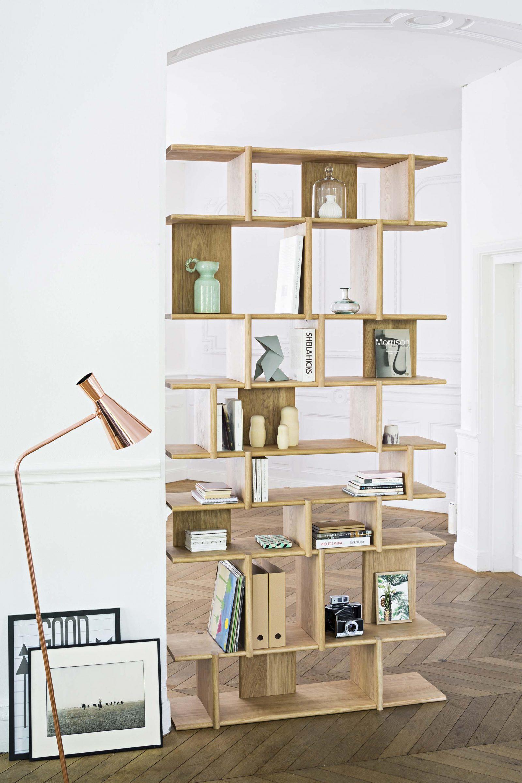 Tana, bibliothèque sur-mesure conçue par Pierre Charrié pour  Jundoo  • Crédit photo :  Notre Loft