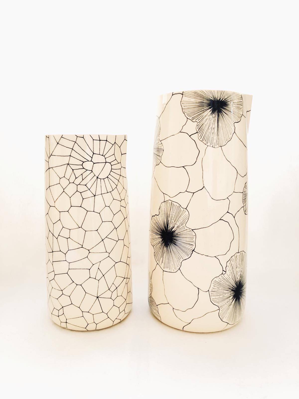 Dynes Noir Vase Carafe •  Three Seven