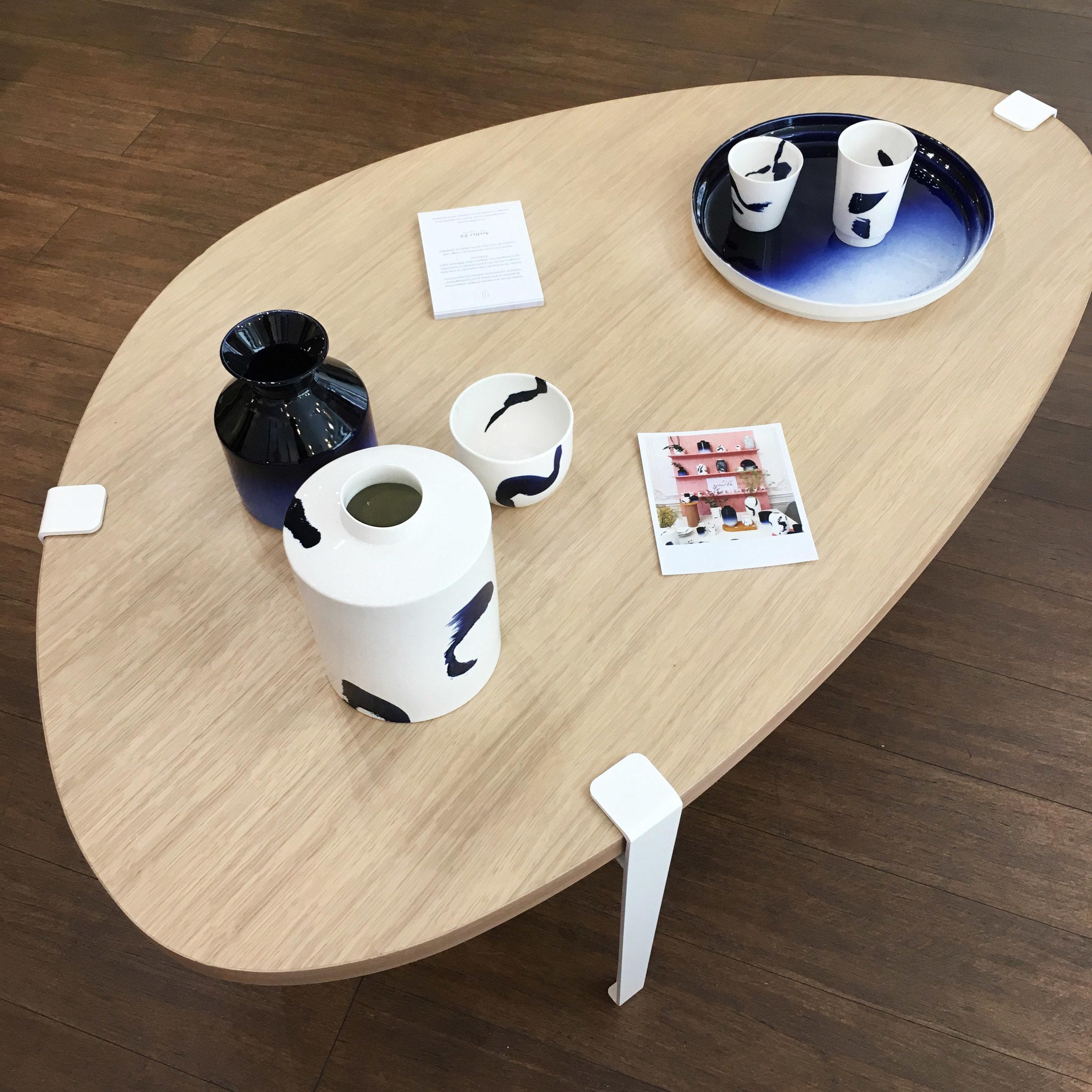 Tasses à café & vase droit -  Atelier Zû