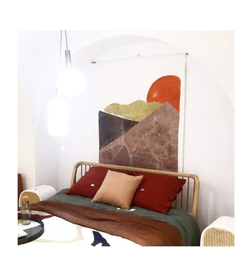 Collection CANYON 2020 Tenture murale/Tête de lit PASADENA  130X170cm