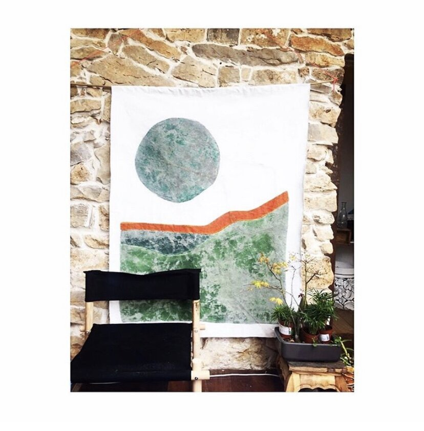 Collection CANYON Tenture murale 2020 120X170cm