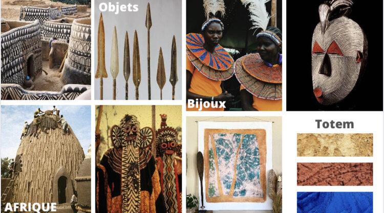 Moodbaord Collection  Côte d'Ivoire  &  Kenya .