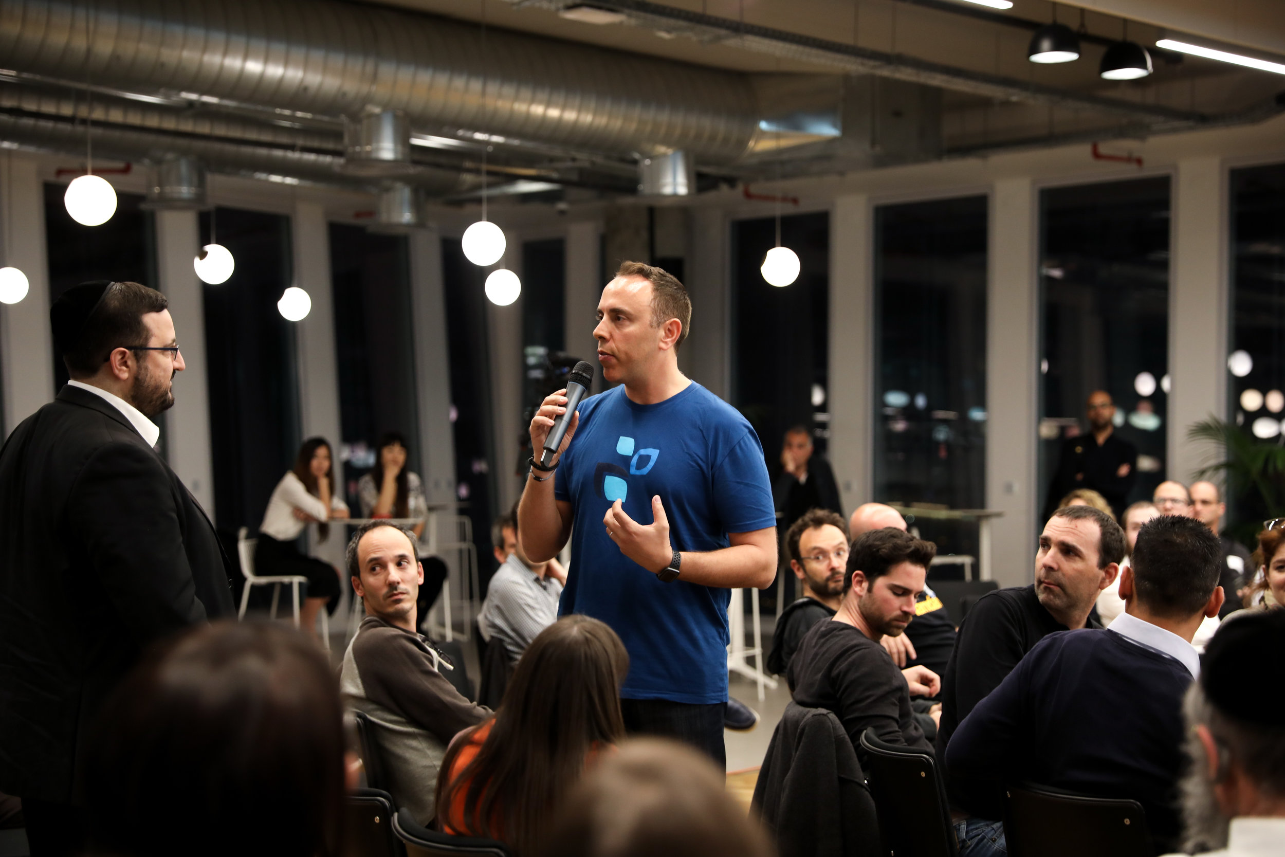 April 2019 TechAviv event in Tel Aviv.