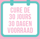 OPTION 1  English: 30 days supply French: Cure de 30 jours Dutch: 30 dagen voorraad