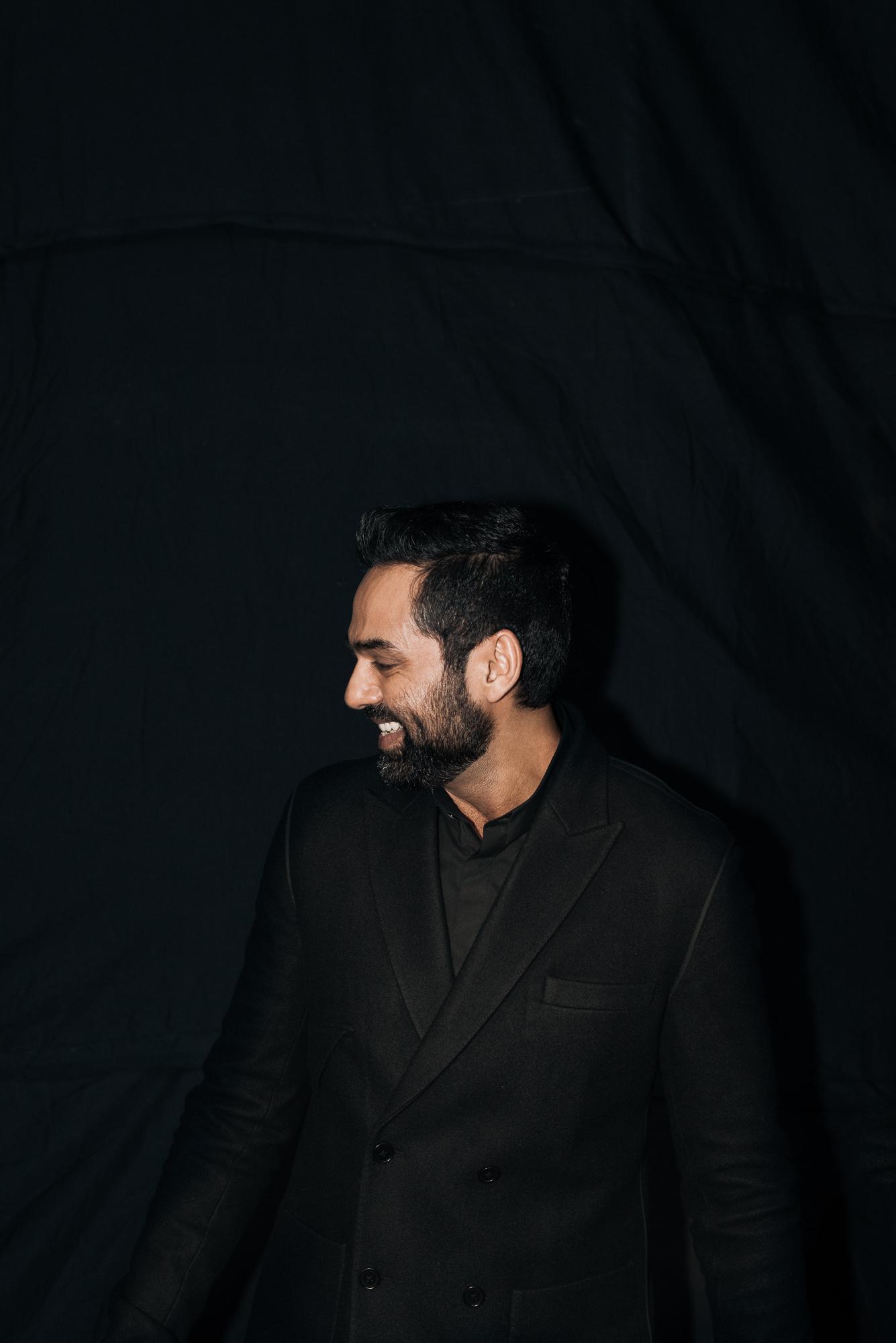 Rajesh Pratap Singh - Backstage