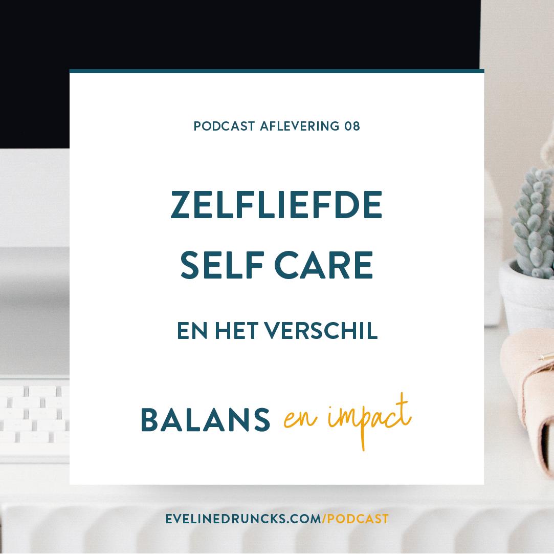 zelfliefde self care en het verschil