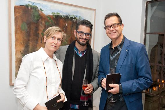 Karina Clarke, UNSW Art & Design Program Director Design, Con Georgiou from One Million Acts of Innovation & Greg Rickard from KPMG