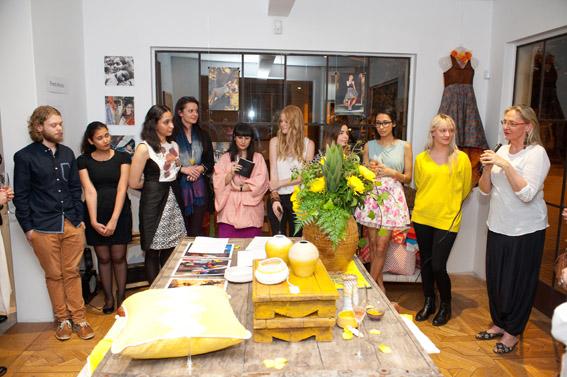UNSW Art & Design Impact Designers presenting their work