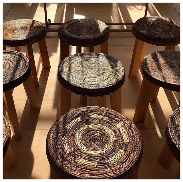 The Ialibu Stool marks the beginning of our ' Considered Collaborations '. Here, contemporary designer Darcy Clarke, has collaborated with skilled weavers of the Kirane, Ialibu Province in PNG's Southern Highlands. #artisanmade #sustainableliving #functionalart #contemporaryhomes #consciousconsumer #ethicallysourced #socialimpact #traditionalskills #preservingculture #PapuaNewGuinea #creativeindustry #considered #consideredbyreal #realsocialimpact