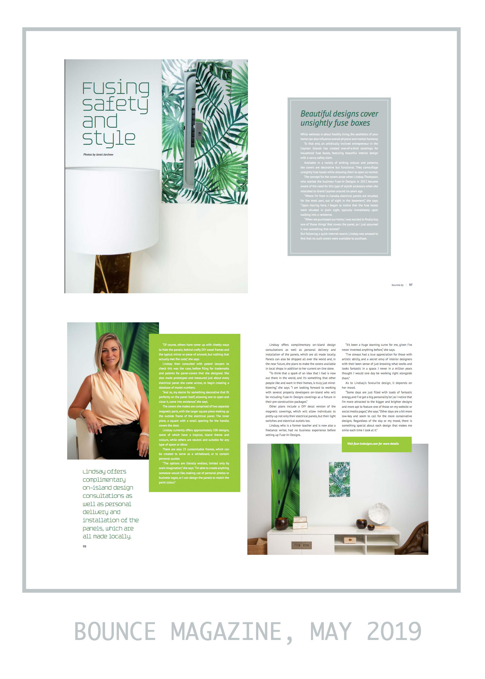 How lucky are we to have been featured in Bounce, Cayman's FIRST edition?!                           A lifestyle magazine dedicated to helping readers live their best life, whether it's getting their game on or simply looking for a little zen. Click above to check out the entire Spring  publication!