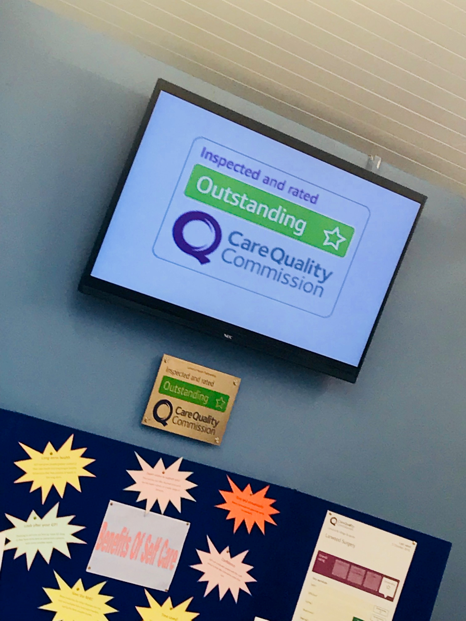 Media Screens – they helped input what information to be put on the Media screens displayed across our sites