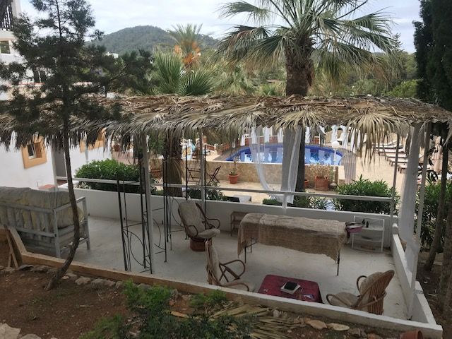 HOTEL CAN JORDI - Up in the nature north of Ibiza, where you will find some of the best Hippy Markets, this authentic Spanish hotel has the perfect relaxing atmosphere for your massage in the space over looking the pool!