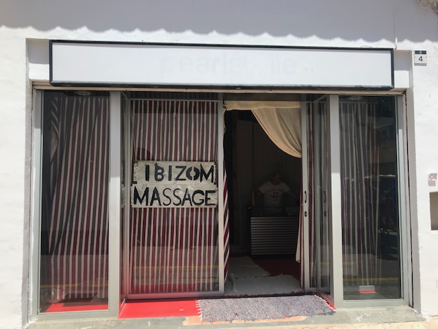 IBIZOM MASSAGE - In the Urban heart of San Antonio, Ibiza.This melting pot tourist town may be one place by day and another at night.Whether you're after a hang over cure or a healthy escape drop by for a massage!