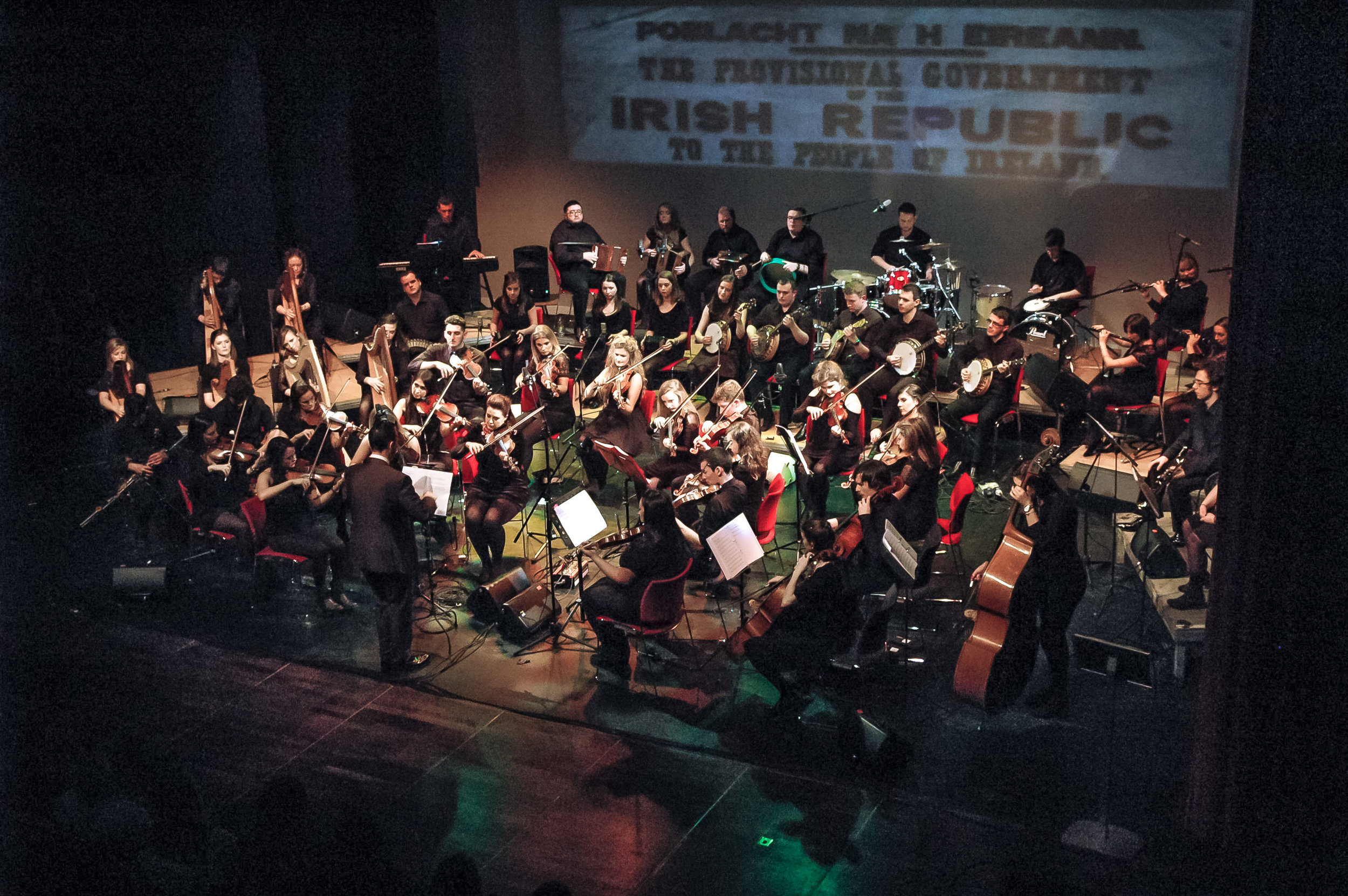 Orchestra with proclamation behind.jpg