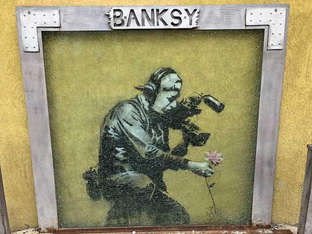 Street Art Mural by Banksy