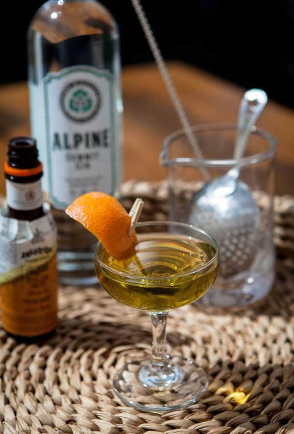 Alpine Distilling Coctail