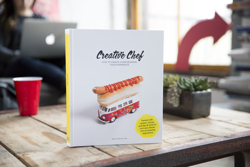 Cook book we created together and for  Creative Chef .