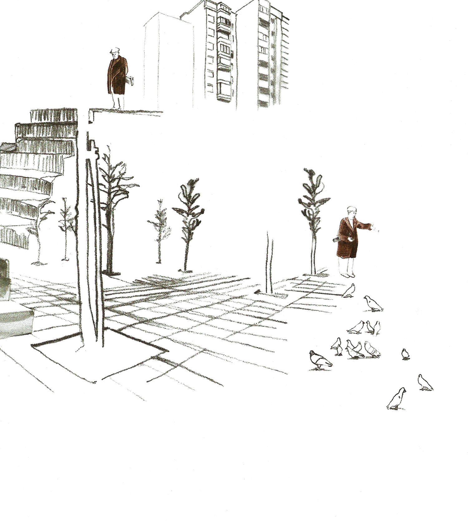 Illustration from 'Zo vanzelf'.