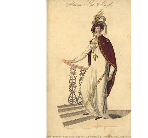 Early 19th century British fashion plate