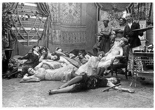 The other side of consumption: an opium den