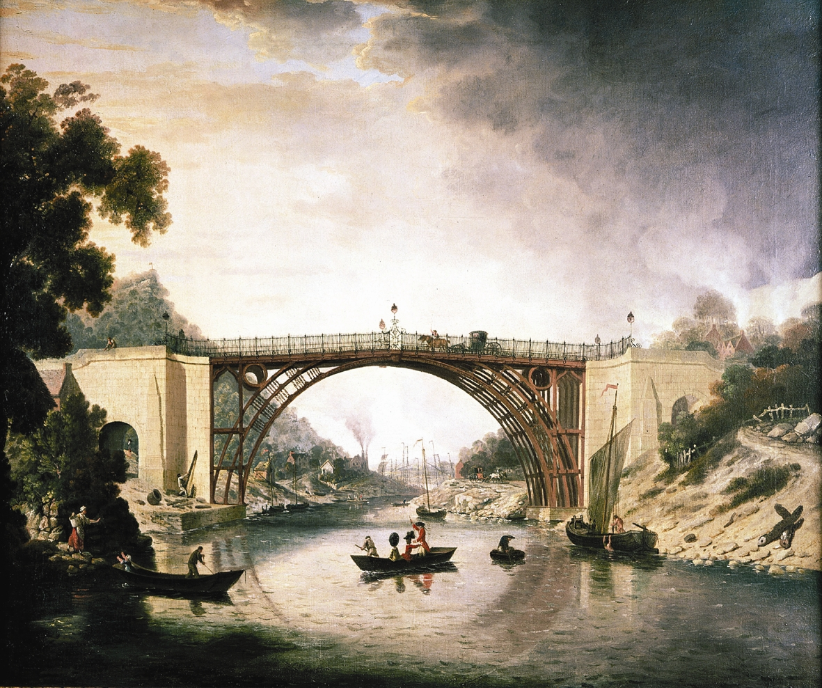 The first iron bridge. Might not look like much. But it's pretty important.