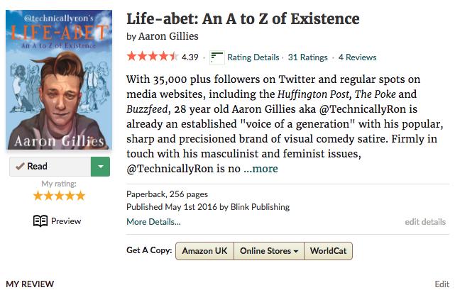 Lifeabet - Goodreads