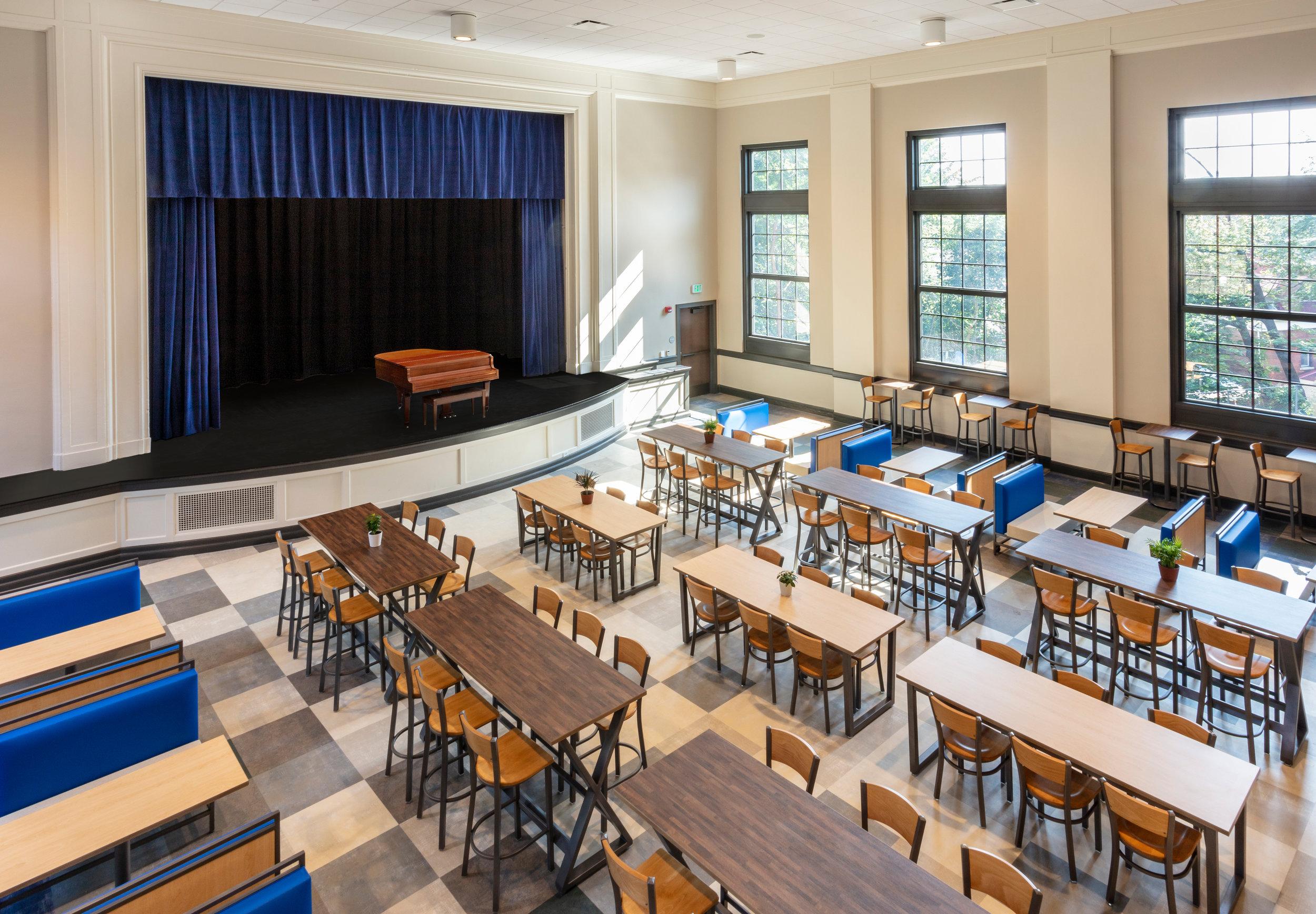 Cafetorium at ECS Pittsburgh