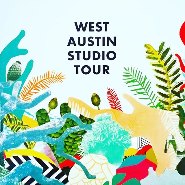 Catch me at West Austin Studio Tour today and tomorrow at @aftpgallery - featuring some of my best sellers and some new exciting debuts!! 😎
