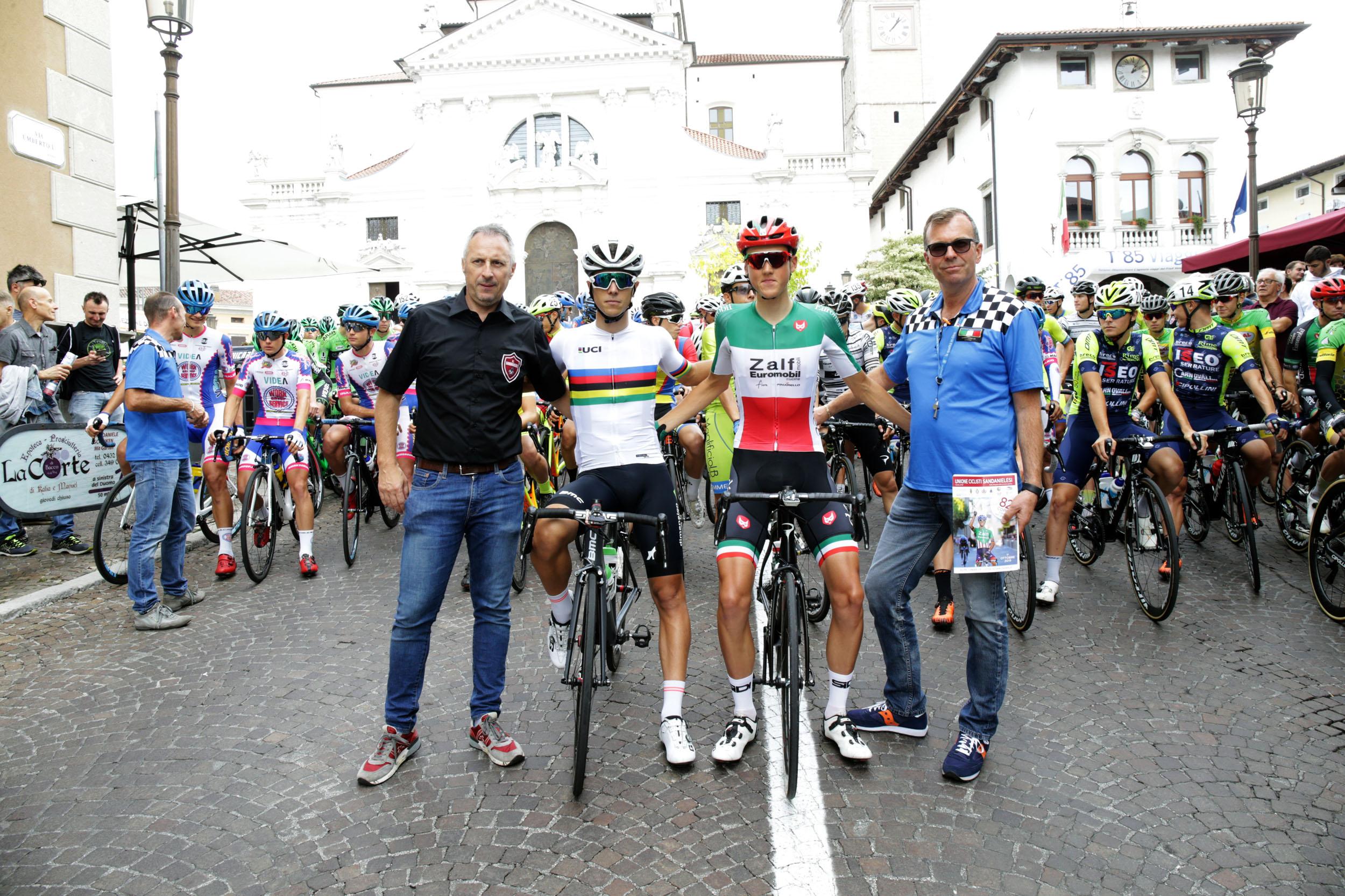 Bortoluzzi Luca e De Monte Mauro dell'U.C. Sandanielesi