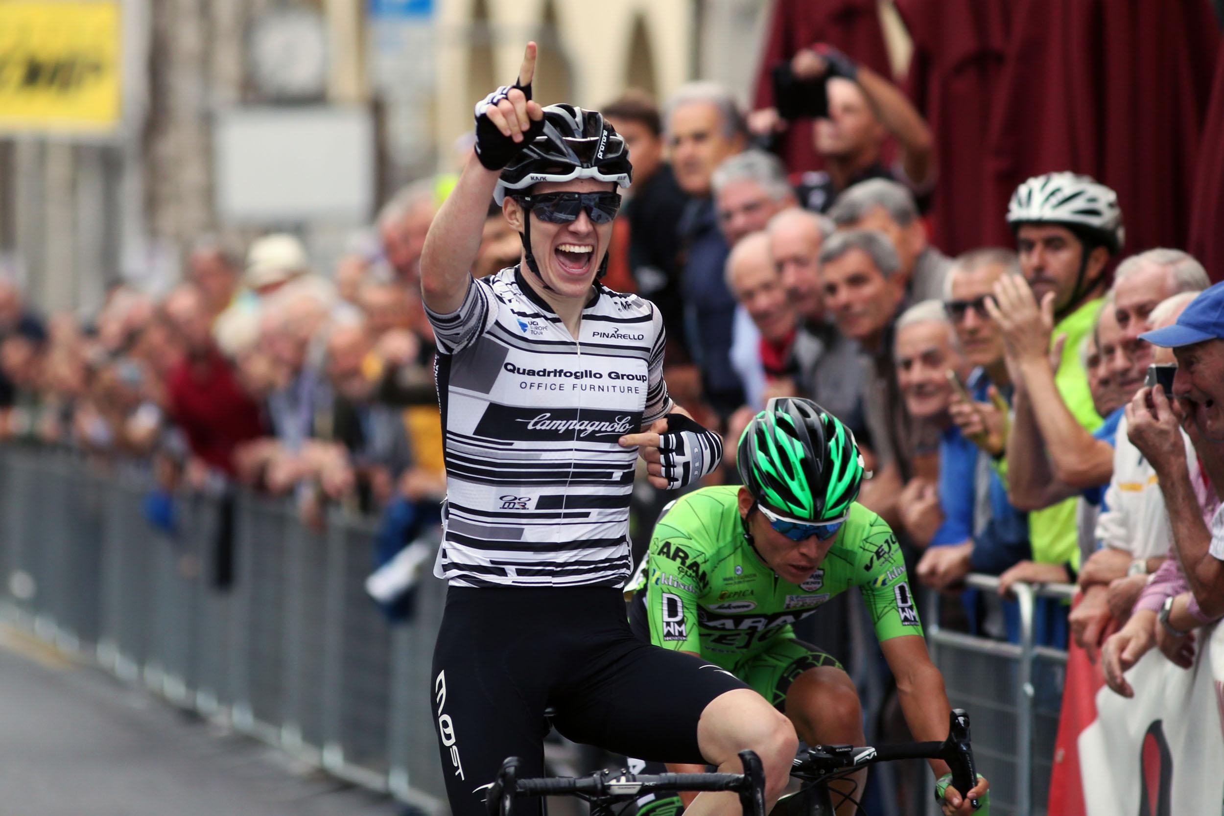 Lo sprint vincente di Aleotti